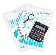 Charts and calculator